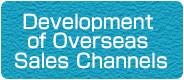 Development of Overseas Sales Channels