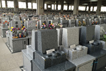 Tombstones for an Indoor Mausoleum